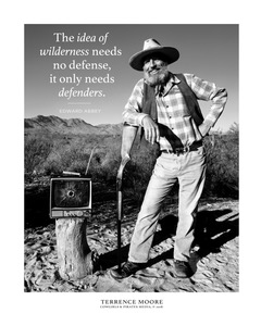 Edward Abbey Poster