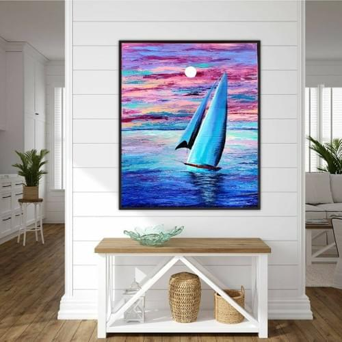 Cotton Candy Sails