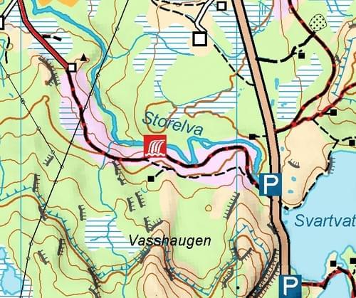 Idyllisk turkart Festvåg A4