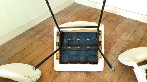 Set de 3 fauteuils lounge Guermonprez