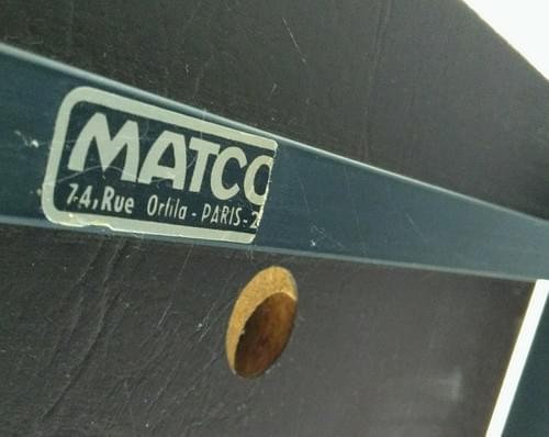 Trois chauffeuses Matco, années 60