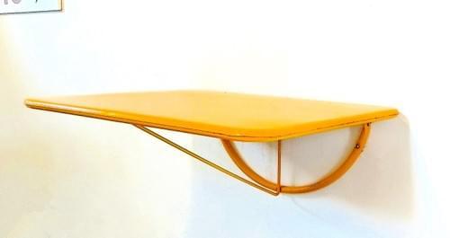 Table murale rabattable années 60