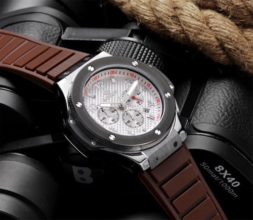 MEGIR Men Quartz Watch 3002