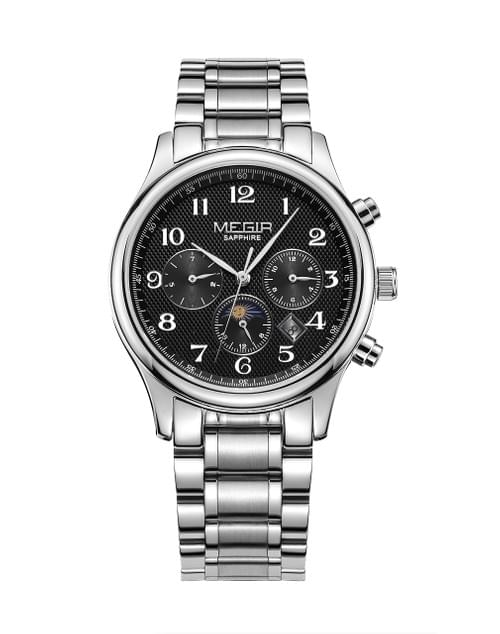 MEGIR Men Automatic Mechanical Watch MS62046G