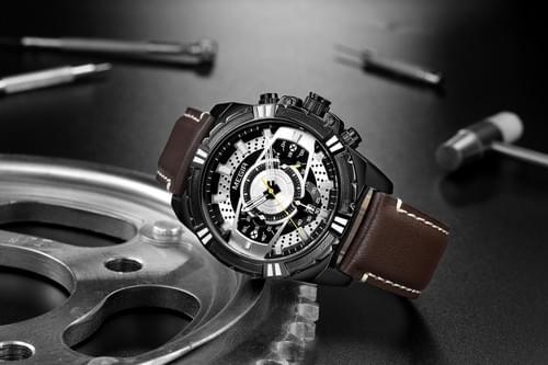 MEGIR Men Quartz Watch 2118