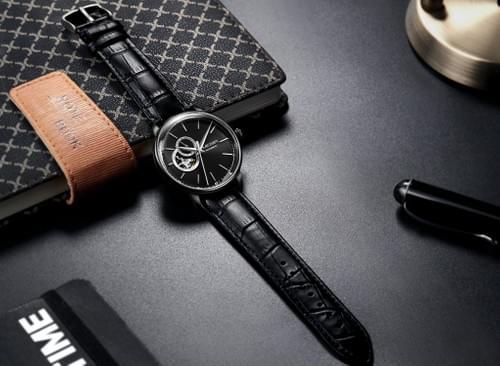 MEGIR Men Automatic Mechanical Watch ML62057G