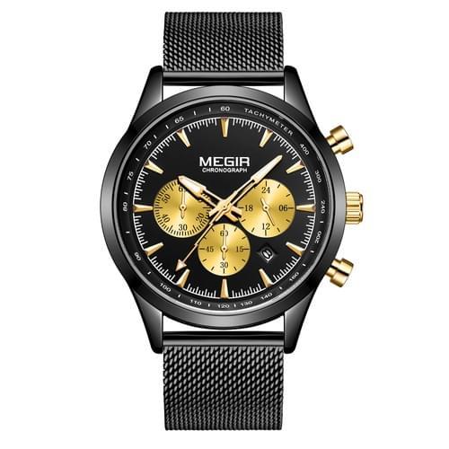 MEGIR Men Quartz Watch 2153