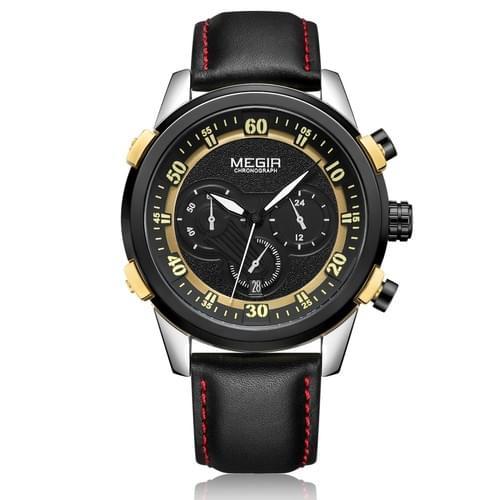 MEGIR Men Quartz Watch ML2067G
