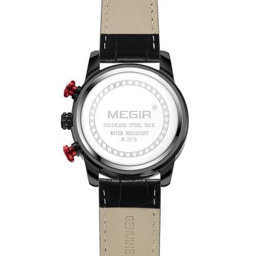 MEGIR Men Quartz Watch 2078