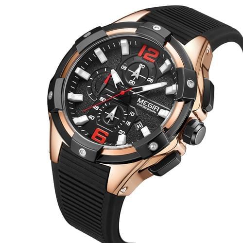 MEGIR Men Quartz Watch 2161