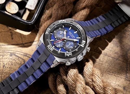 MEGIR Men Quartz Watch 3009