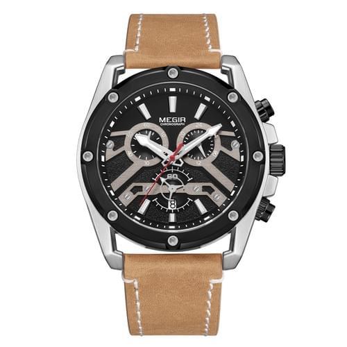 MEGIR Men Quartz Watch ML2120G