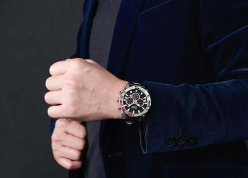 MEGIR Men Quartz Watch 2066
