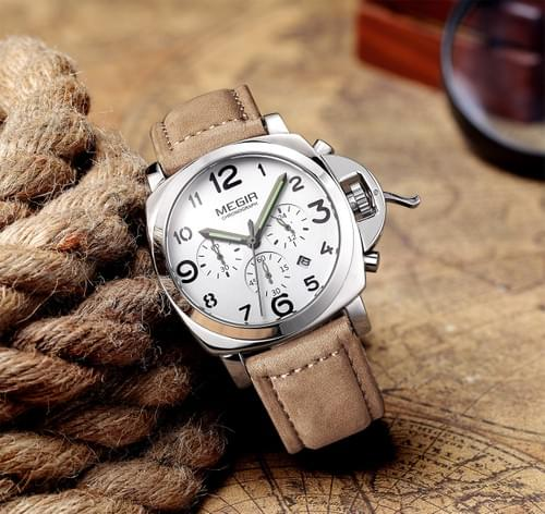 MEGIR Men Quartz Watch ML3406G