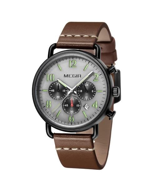 MEGIR Men Quartz Watch 2158