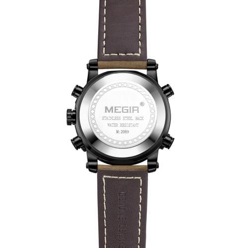 MEGIR Men Quartz Watch 2089