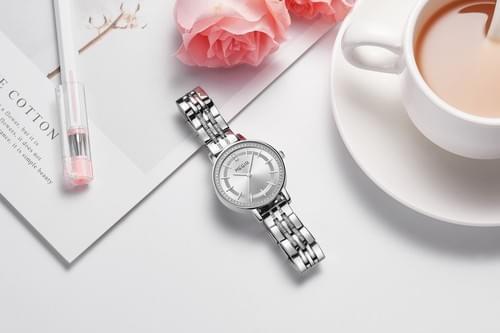 MEGIR Women Quartz Watch 7012