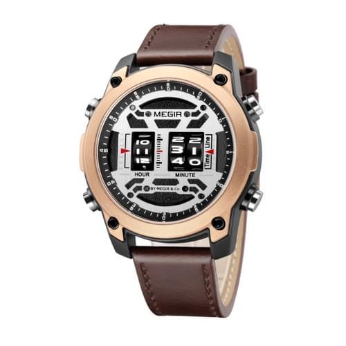 MEGIR Men Quartz Watch 2142