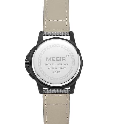 MEGIR Men Quartz Watch 2033