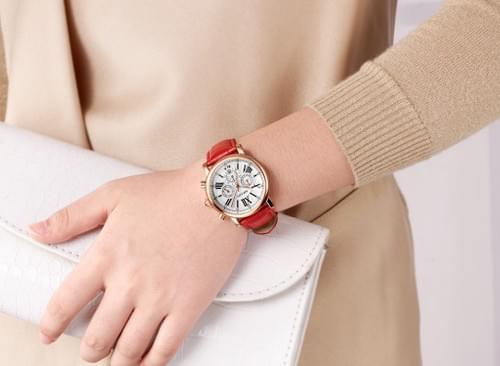 MEGIR Women Quartz Watch 2058