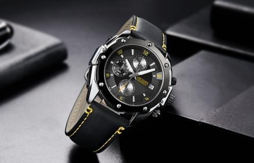 MEGIR Men Quartz Watch 2074