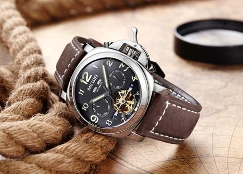 MEGIR Men Automatic Mechanical Watch 3206