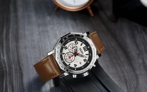 MEGIR Men Quartz Watch 2048