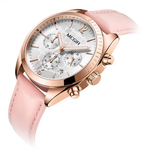 MEGIR Women Quartz Watch 2115