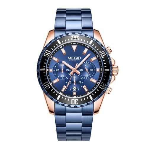 MEGIR Men Quartz Watch MS2064G