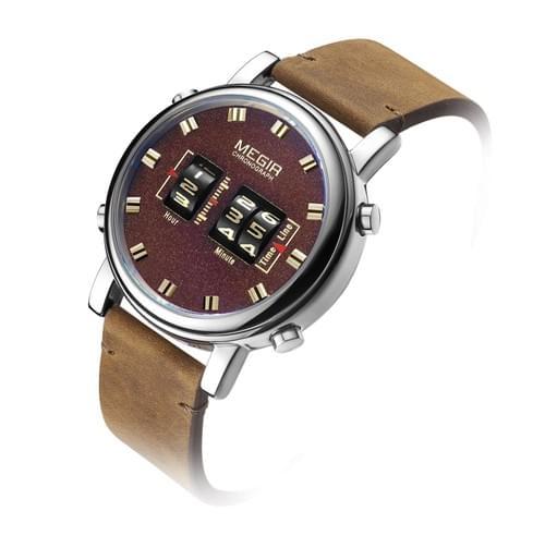 MEGIR Men Quartz Watch 2137
