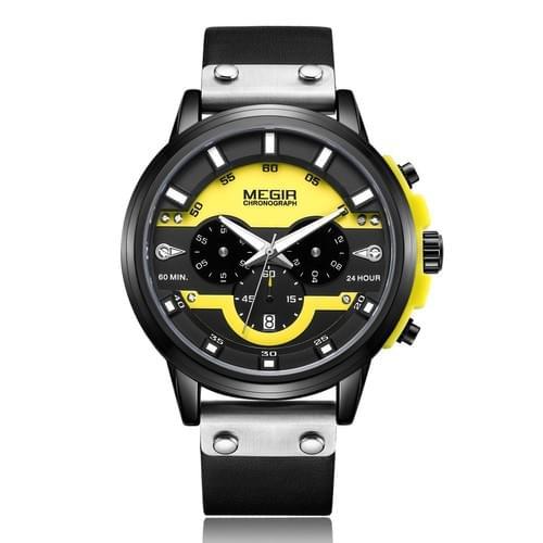 MEGIR Men Quartz Watch 2080