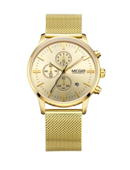 MEGIR Men Quartz Watch MS2011G