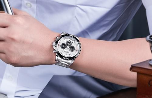 MEGIR Men Quartz Watch 2087
