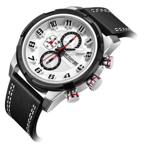 MEGIR Men Quartz Watch 2082