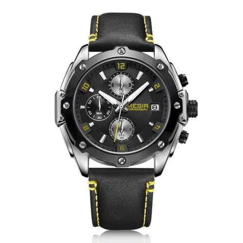 MEGIR Men Quartz Watch ML2074G