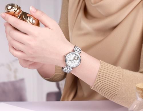 MEGIR Women Automatic Mechanical Watch 62060