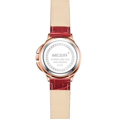 MEGIR Women Quartz Watch ML2059L