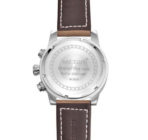 MEGIR Men Quartz Watch 3010