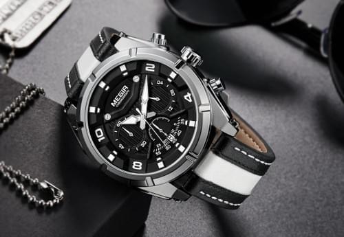 MEGIR Men Quartz Watch 2076