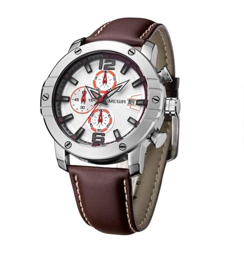 MEGIR Men Quartz Watch ML2046G