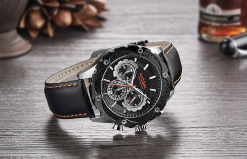 MEGIR Men Quartz Watch 2070