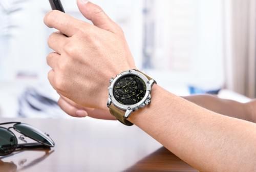 MEGIR Men Quartz Watch ML2093G