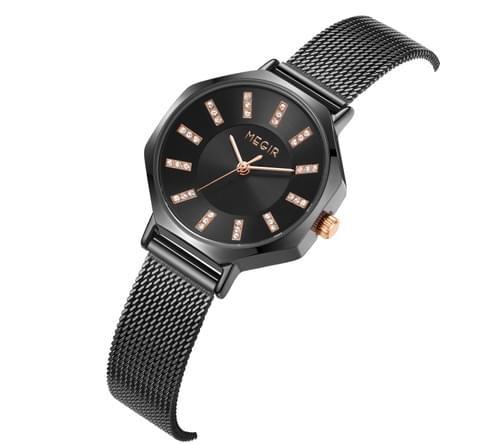 MEGIR Women Quartz Watch MS7019L