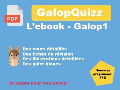 Ebook - Galop 1 - 30 pages pour tout savoir !