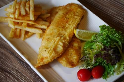 Fish and Chips ( Snapper)