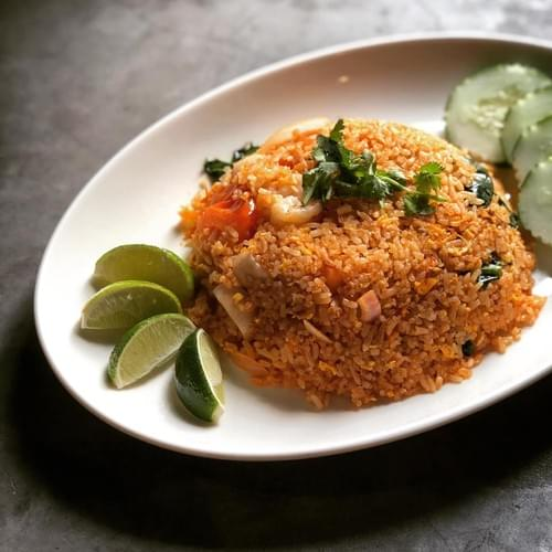 Tom Yum Seafood Fried Rice