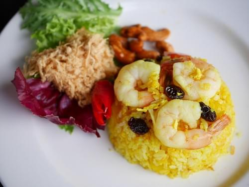 Pineapple Seafood Fried Rice