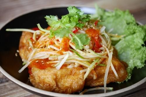 Thai Style Homemade Egg Tofu