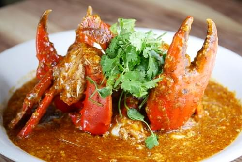 Chef's Recommended Chilli Crab (LIVE) - 24 HOUR ADVANCE ORDER