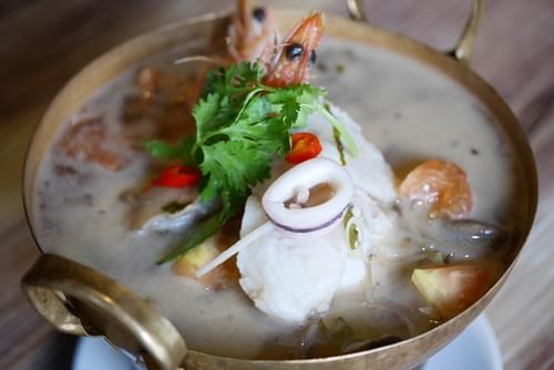 Tom Yum Seafood Soup (Clear)
